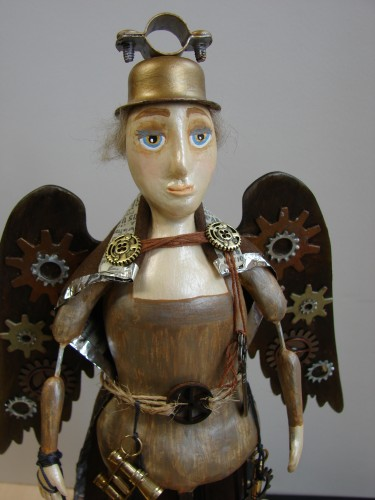 Steampunk Santos Doll