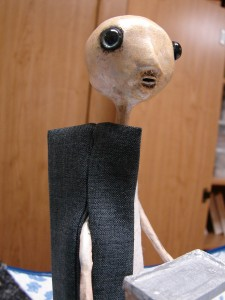 How to make a jacket for an art doll