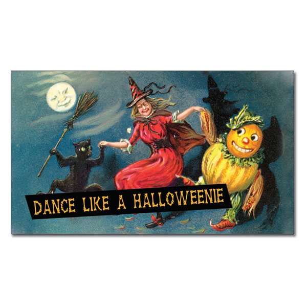 Dance Like A Halloweenie Magnet