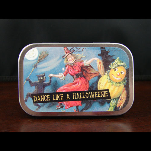 Dance Like A Halloweenie Mint Tin