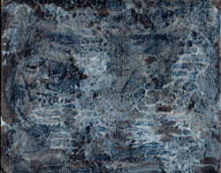 Blue & Brown Textured Panel