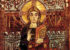 Christ in Majesty, miniature of Christ in the Godescalc Evangelistary, detail