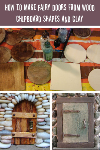 Fairy House Doors Tutorial Graphic