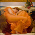 Flaming June, by Frederic Lord Leighton (1830-1896)