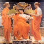 Midsummer, by Albert Joseph Moore (1848–1893)