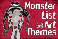 Monster List of Art Themes