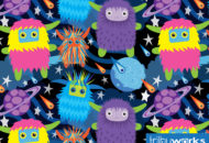 Monsters in Space by Trilby Works