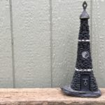 The Ebony Tower Fairy House by Trilby Works
