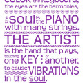 Wassily Kandinsky - Color Is The Keyboard Quote