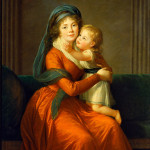 Elisabeth Vigee-Lebrun - Portrait of princess Alexandra Golitsyna and her son Piotr