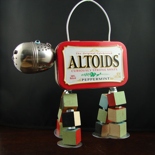 Altoid Tin Hippo Sculpture