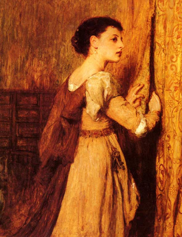 William Quiller Orchardson, Jessica (1877)